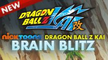 Nicktoons Dragon Ball Z Kai Brain Blitz game