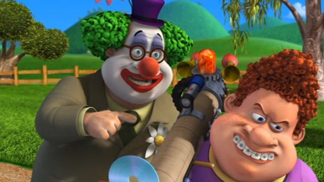Back at the Barnyard | Clown and Out/Clan of the Cave Cow | Season 2 | Ep. 22 | Nicktoons