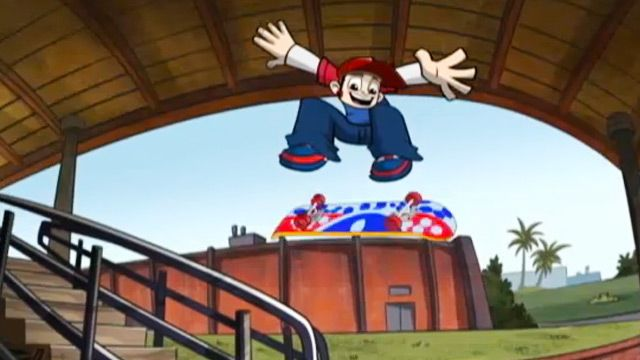 Wild Grinders | Stairs | Video Clip | Nicktoons