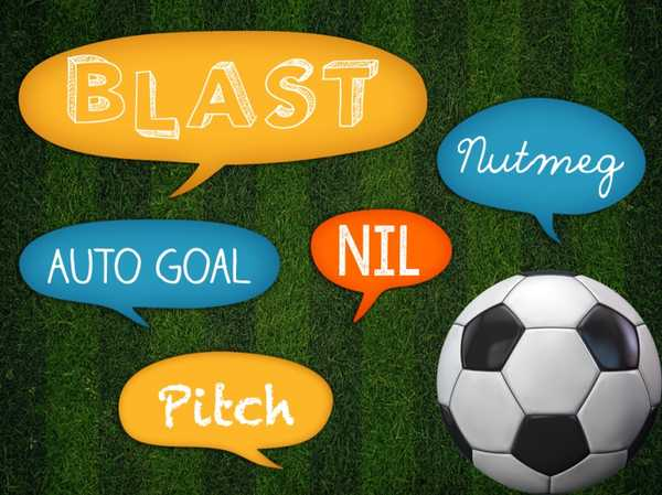 Soccer Superstar: Soccer Slang
