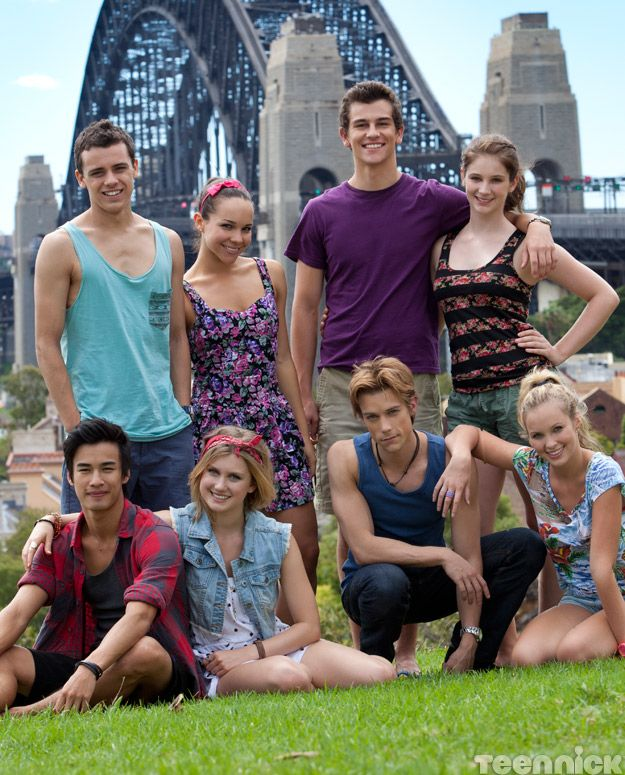 The Dance Academy cast