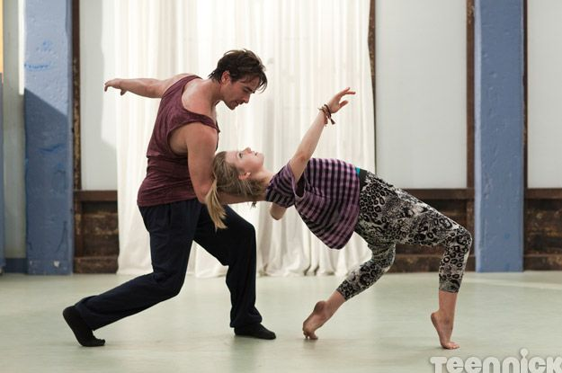 Grace and Zach from Dance Academy