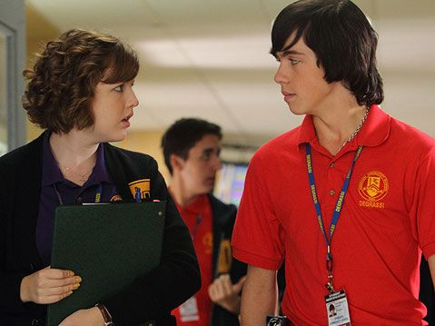 Aislinn Paul and Munro Chambers
