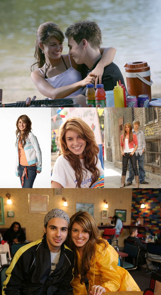 Shenae Grimes as Darcy on Degrassi