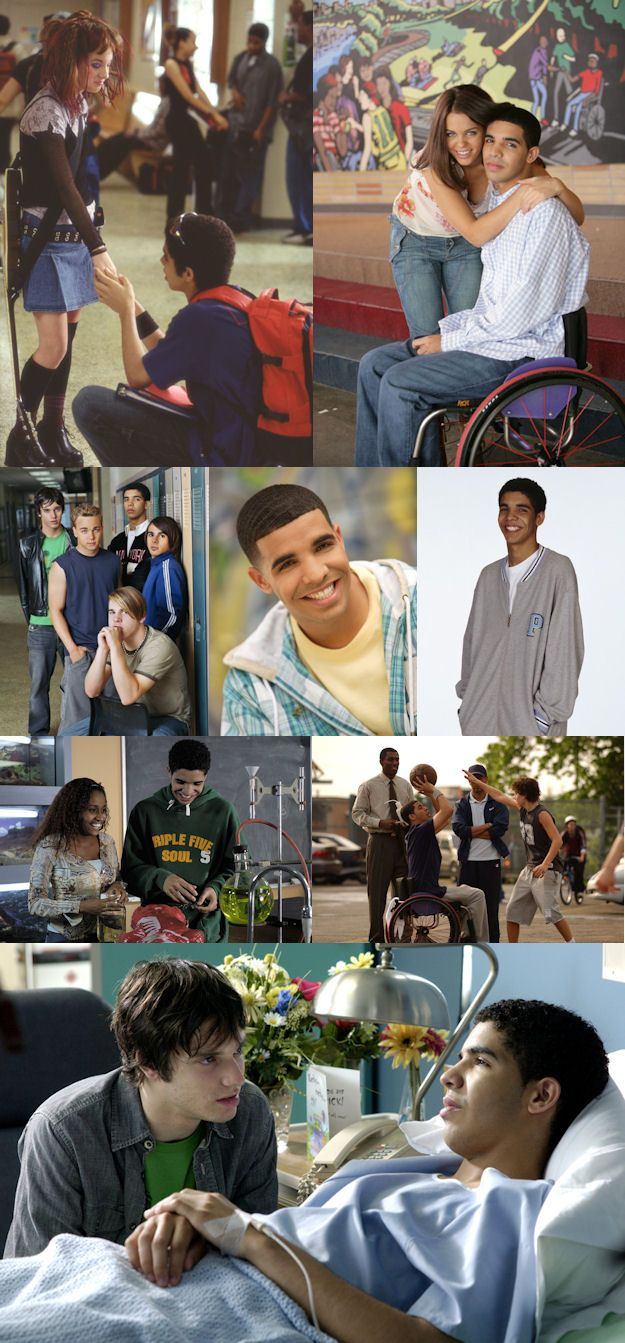 Aubrey Graham aka Drake as Jimmy on Degrassi