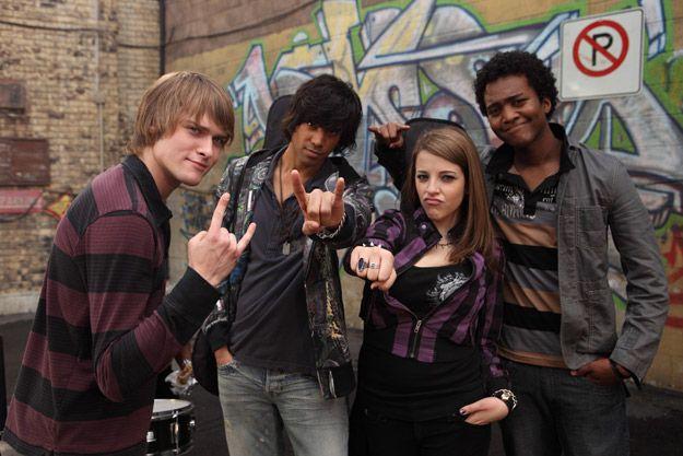 Degrassi rockers.