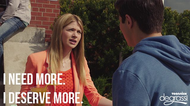 Degrassi: Something's Got to Give