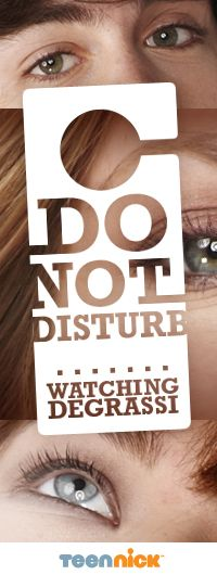 Do Not Disturb - Watching Degrassi facebook banner
