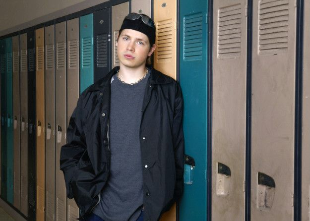 Jay Hogart, about to melt the lockers with his hotness