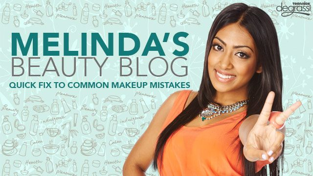 Melinda's Beauty Blog: Makeup Quick Fix
