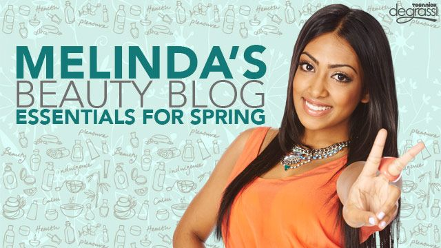 Melinda's Beauty Blog: Essentials For Spring