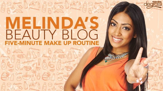 Melinda's Beauty Blog: Five Minute Makeup