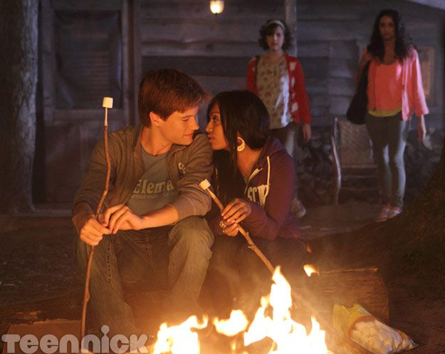 Degrassi: Nowhere to Run. Jake and Alli share a moment.