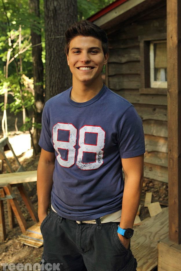 Degrassi: Nowhere to Run. Drew at the cabin.