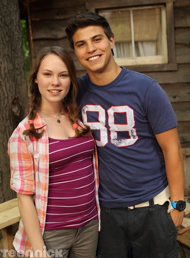 Degrassi: Nowhere to Run. Katie and Drew at the cabin.