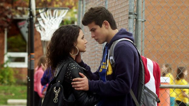 Drew and Bianca on Degrassi: Now or Never