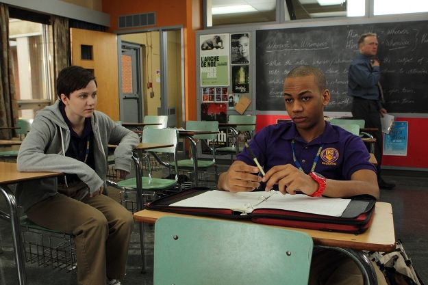 Adam gets through to Dave in Degrassi detention.