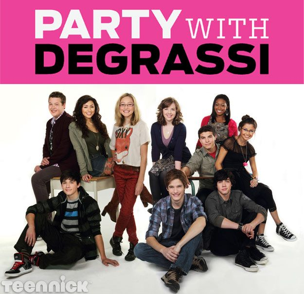 PARTY with DEGRASSI!!