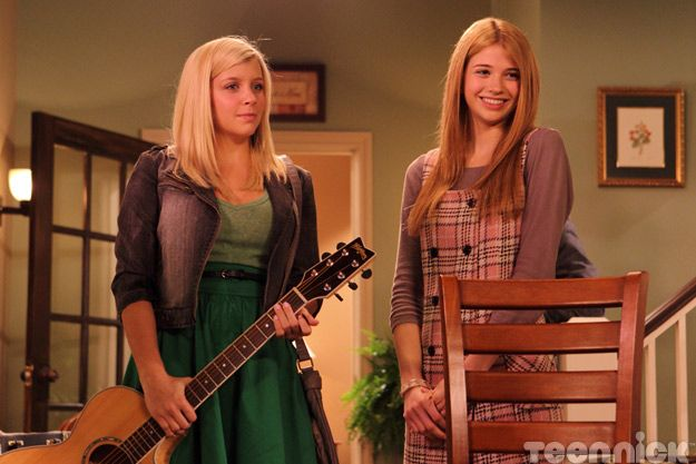 Jenna, her dangerous guitar, and Becky