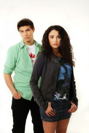 Drew and Bianca from Degrasi