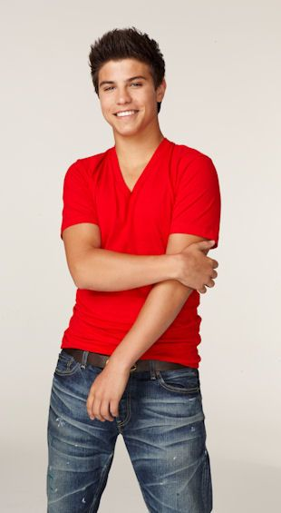 Luke Bilyk plays Drew on Degrassi