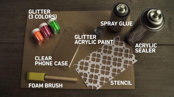 Glitter Glam Phone Case