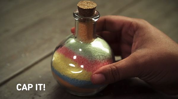 Bottled Sand Art