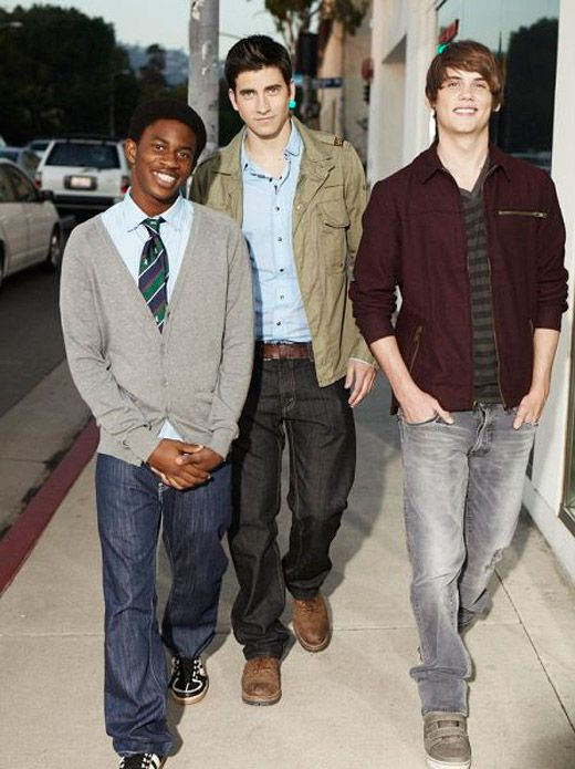 Finn, Joey, and Walt