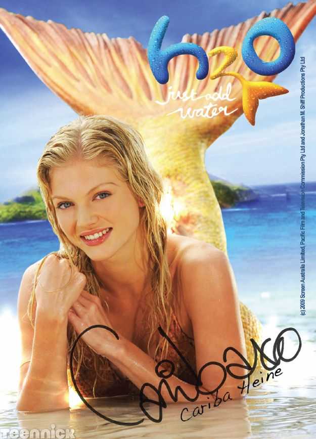 Cariba Heine plays Rikki on H2O