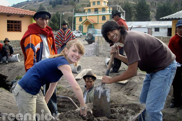 Charlotte Arnold and Ray Ablack in Ecuador