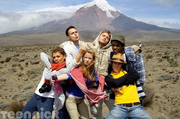 Degrassi castmembers in Ecuador