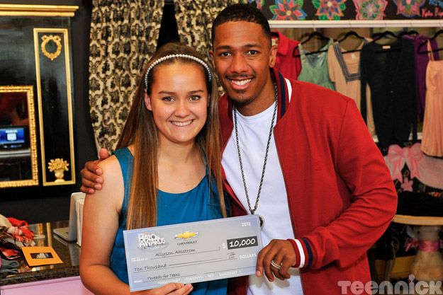Allyson Ahlstrom and Nick Cannon