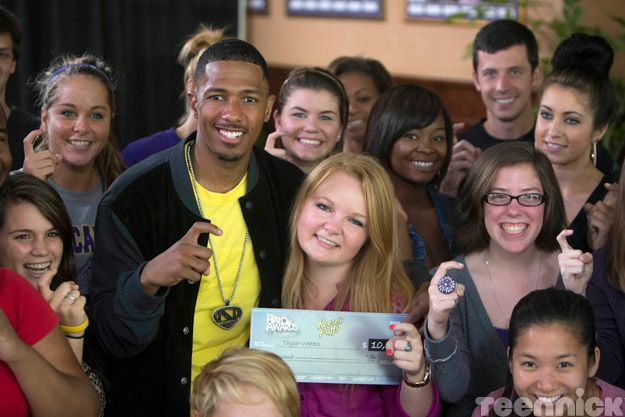 Nick Cannon and Taylor Waters
