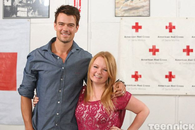 Josh Duhamel and Taylor Waters