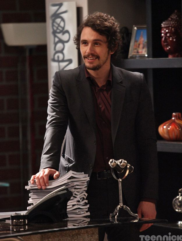 James Franco as Osborne Silver on Hollywood Heights