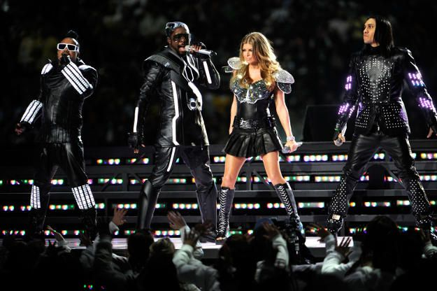 The Black Eyed Peas at Super Bowl Halftime, not the KCAs