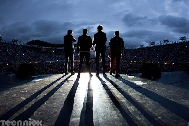 Big Time Rush, performing live