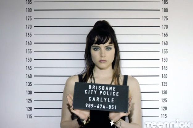 SLiDE: Scarlett's mugshot