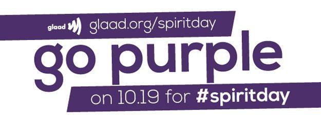 Yay! It's Spirit Day!