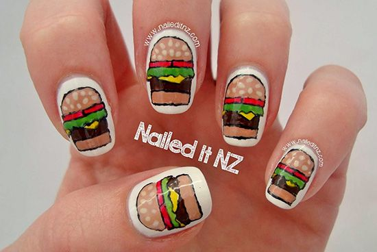 BBQ Nail Art