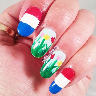 World Cup Nail Art