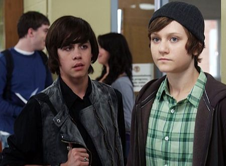 Adam and Eli on Degrassi