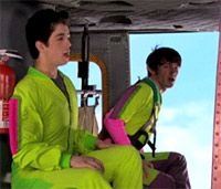 Love the neon jumpsuits, guys!