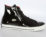 Black Patent Chucks -- Guys' Prom Shoes That Aren't Ugly