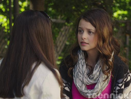 Frankie encourages Zoe to try and change the fate of her character in the new Brett Barnett film.