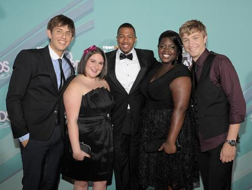 2011 HALO Awards: Orange Carpet | 2011 Honorees - Kyle Weiss, Emily-Anne Rigal, Shanoah Washington, and James O'Dwyer