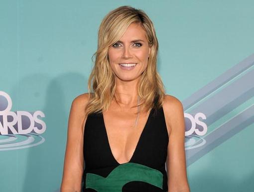 2011 HALO Awards: Orange Carpet | TV personality Heidi Klum