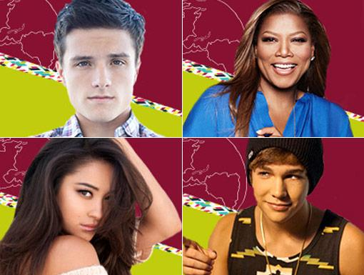 HALO 2013 Celebrities: Queen Latifah, Austin Mahone, Shay Mitchell, & Josh Hutcherson