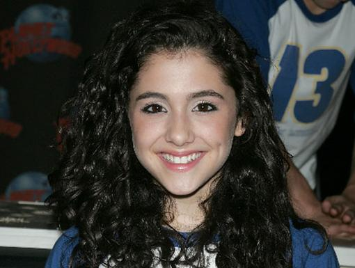 Here's Ariana Grande then, before she became a Nick star.