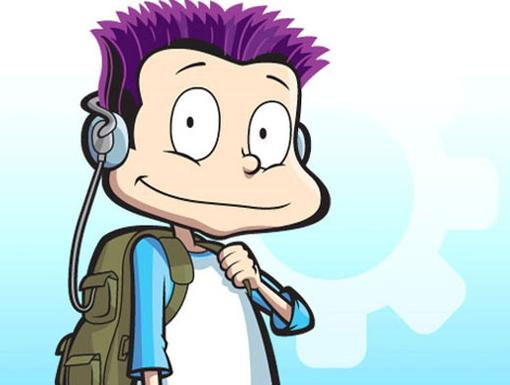Here's Tommy Pickles now on